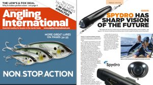 Angling International magazine - Spydro Has Sharp Vision Of The Future
